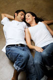 Sexy ethnic couple in love Royalty Free Stock Photos