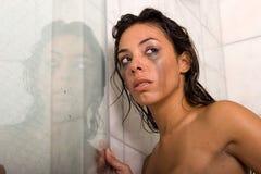 Sexy etnische vrouw Stock Foto