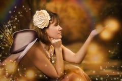 Sexy eyed fairy Royalty Free Stock Photo
