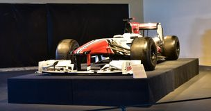 Sexy F1 Car on display at Heritage transport Museum in Gurgaon, Haryana India. Royalty Free Stock Images