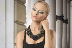 Sexy fashion elegant woman Stock Photo