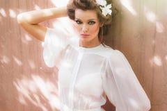 Sexy fashion model Stock Photography