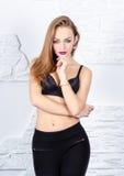 Sexy fashion portrait Stock Images