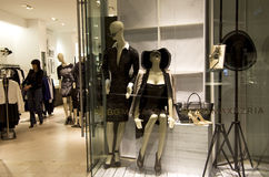 Sexy fashion store Royalty Free Stock Photos
