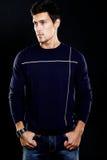 fashion stylish young man Stock Photo