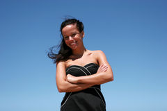 fashionable girl Royalty Free Stock Image
