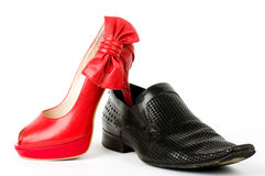 Sexy fashionable shoes Royalty Free Stock Photography