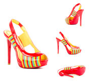 Sexy fashionable shoes Stock Image