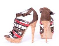fashionable shoes isolated Stock Photo