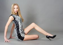 Sexy fashionable woman Royalty Free Stock Photography