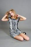 Sexy fashionable woman Royalty Free Stock Photos