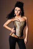 Sexy fashionable woman Stock Image