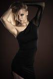 Sexy fashionable woman vampire Royalty Free Stock Photos