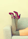 Sexy female legs. Stock Photography