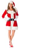 Sexy female Santa Royalty Free Stock Photo