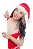 Sexy female Santa Royalty Free Stock Image