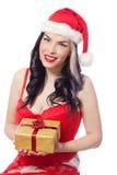 Sexy female Santa Royalty Free Stock Photo