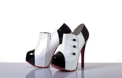 Sexy female shoes Stock Photo