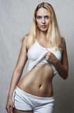 Sexy female underwear model. Royalty Free Stock Photos