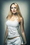 Sexy female underwear model. Stock Photos