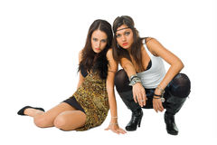 females provocative stock photo
