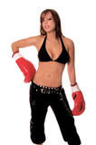 Sexy Fighter 2 Royalty Free Stock Images