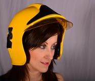 Sexy firewoman Stock Photo