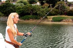 Sexy Fisherman Stock Images