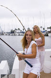Sexy Fishermen Royalty Free Stock Images