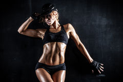 fit babe Royalty Free Stock Image