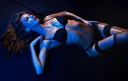 Sexy fit woman Royalty Free Stock Photo