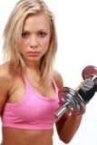 Sexy fitness girl Stock Photos