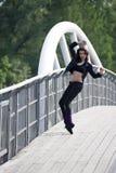 fitness girl Stock Image