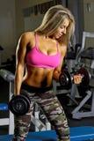 Sexy fitness girl Royalty Free Stock Photos