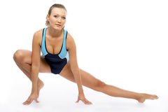Sexy fitness instructor Royalty Free Stock Photos