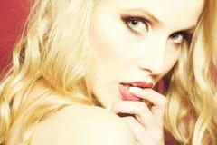 Sexy Flirtatious Woman Royalty Free Stock Image