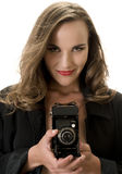 Sexy Fotograaf Royalty-vrije Stock Foto's