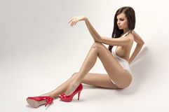 Sexy Frau Lizenzfreies Stockbild