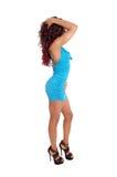 Sexy Frau im Profil Lizenzfreie Stockfotos