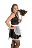 Sexy French Maid Royalty Free Stock Photos