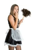 French Maid Royalty Free Stock Photo
