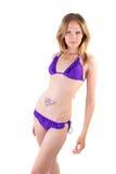 Sexy and fresh bikini model Stock Images