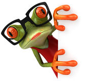 Sexy frog Royalty Free Stock Images