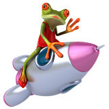 Sexy frog Royalty Free Stock Image