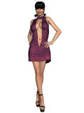 Sexy front open dress. 3d render of a sexy front open dress Royalty Free Stock Photos