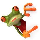 Sexy Frosch stock abbildung