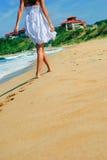 Sexy gang bij het strand royalty-vrije stock foto's
