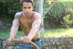 Sexy gardener Royalty Free Stock Photo