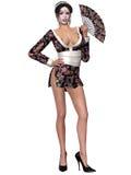 Sexy Geisha Royalty Free Stock Photo