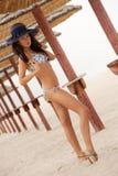 Sexy girl on the beach Stock Photo